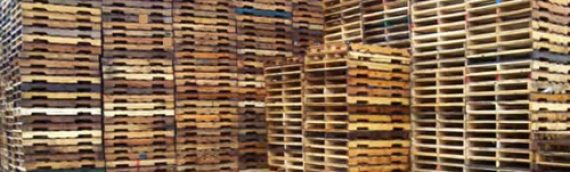 48 x 36″ Recycled Hardwood Pallet