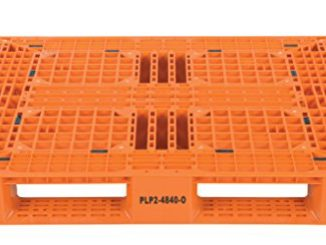 Vestil PLP2-4840-ORANGE Polyethylene Pallet