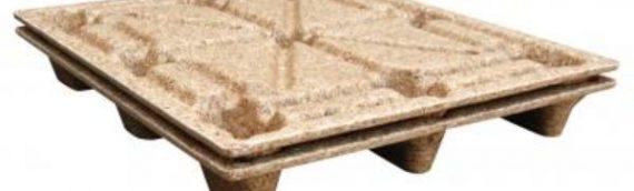 Vestil PWP-4840 Nestable Presswood Pallet, Wood, 2000 lbs Capacity, 48″ Width, 5.6″ Height, 40″ Depth