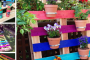 Ways to Upcycle your Garden Using Pallets