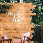 Wooden Pallet Wedding Backdrop Eco-Friendly