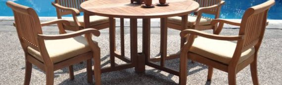 How tomcare for your teak wood chairs and tables