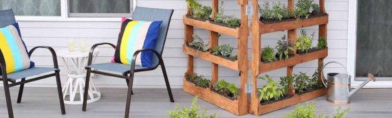 Top DIY garden products to make with the wooden pallets