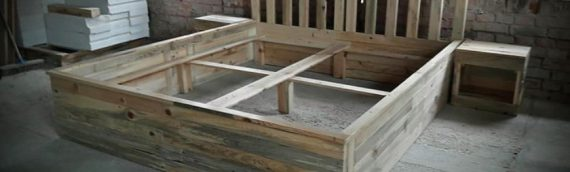 Recycled Wood Pallet Frames