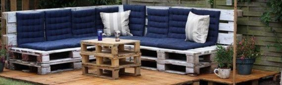 Top ideas for outdoor furniture with unusable wooden pallets