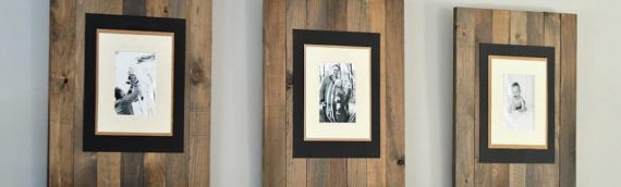 The ultimate guide on building a rustic frame from wooden pallet