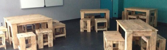 Using Pallet Wood For School Furniture